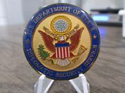 Secretary Of State Protective Detail Diplomat Security Service Challenge Coin .