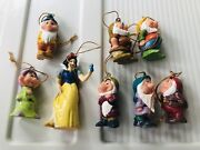Disney Snow White And The Seven Dwarves Christmas Tree Ornaments