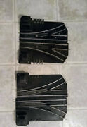 2 Pairs American Flyer Trains Electric Switch Set, Controller, And Extra Wire