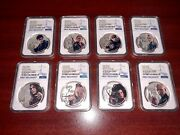 2020 Fiji Silver 1 - Harry Potter Characters - Pf 70 Uc Fr - Ngc 8-coin Set