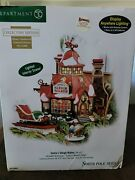 Dept 56 Santaand039s Sleigh Maker Collectors Ed North Pole Limited Ed Numbered New