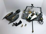 Lego Star Wars Lot General Grievousand039 Starfighter 8095 + Ship And Base 7754