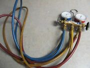 Nrp Test And Charging Manifold And 5' Hoses - R134b/22/404a Hvac Gauges 8