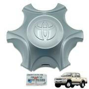 For Toyota Hilux Tiger Kdn165 1998 01 Wheel Center Cap Cover Silver Genuine 1pc