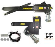1968-1972 Gm Nova 2dr Front And Rear Power Window Kit With Ftfg Switches For Door