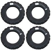 Four 4 New Lugged 600 X 16 Tires - Fits John Deere Tractor Models