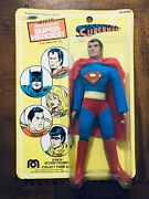 1976 Mego 8 Dc Wgsh Superman Action Figure Mint On Card Moc Wow
