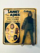 Original 1970and039s Mego Planet Of The Apes 8 Galen Action Figure Mint On Card Moc