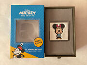 Nwb Chibi Coin Disney Minnie Mouse 1oz Silver Coin 2000 Mintage Limited Edition