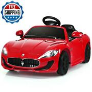 Kids Ride On Car With Remote Control Vehicle Electric 12v Powered Battery Red
