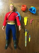 All Original And 100 Complete 1976 Mego 10 Action Figure Flash Gordon Minty