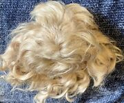 """Antique 11"""" Mohair Wig For Antique French Or German Bisque Doll"""