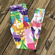 Women's Disney Parks Exclusive Leggings Pants Its A Small World Anniversary Xs