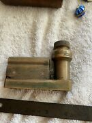 Antique Mle 1918 Mas With Case Wwi Clinometer Level Artillery Military