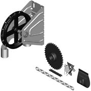 Garage Door 2000r Reduced Drive Chain Hoist 1″ Shaft Wall Mounting 41 Reduction