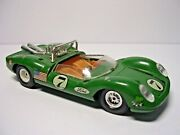 Gama Ford Gt40 9603 Green Car Number 7 Made In Western Germany