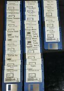 101 Amiga 3.5 Dd Floppy Disk Lot 2, Mostly Games, Untested, As-is