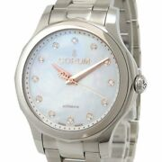 Corum Admiral's Cup Legend 01.0144 Automatic Diamond White Dial Stainless Men's