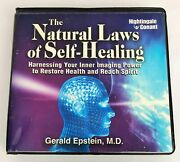 Nightingale Conant The Natural Laws Of Self-healing Gerald Epstein Cd 9 Discs