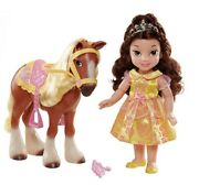 Beauty And The Beast My First Disney Princess Doll Belle And Philippe Horse Set