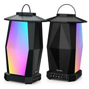 Outdoor Bluetooth Speakers 2 Pack 25w Wireless Speakers Supported Pairing