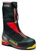 Asolo Menand039s A01036 Mont Blanc Gv Black High Altitude Mountaineering Boots Shoes