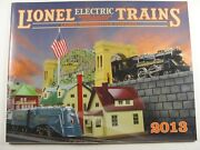 Mth Lionel Corp. Brand New 2013 Tinplate Color Catalog Standard And O Gauge Trains
