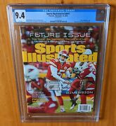 Sports Illustrated 2018 Mahomes Fc Newsstand Cgc 9.4 Nice Rookie Cover