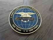 Navy Seal Delivery Vehicle Team One Sdvt 1 Nswg 3 Logsu 3 Atc Challenge Coin