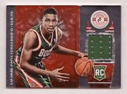 Giannis Antetokounmpo Rookie Jersey /100 2013-14 Panini Totally Certified 181 Rc