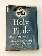 Holy Bible From The Peshittageorge M. Lamsa 1957 Hardcover Book