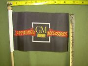 New Gm Accessories 4 X 6 Inch Flag 34 35 36 37 38 39 40 41 License Plate Topper