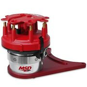 Msd Ignition 8510 Pro-billet Distributor Front Drive Fits Small Block Chevy