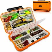 Fishing Lures Baits Tackle Box And Lure Kit Piece Saltwater And Freshwater