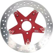 Mjk Performance P-4651 Star 11.8in. Floating Brake Rotor - Red Anodized