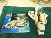 Lego City Space Shuttle 3367 2011 Instructions And Mini Figure Poster Included