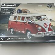 Playmobil Volkswagen T1 Camping Bus 70176 For Kids 5 Years Old And Up