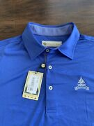 Congressional Country Club - Polo Shirt By Donald Ross - Small Hole By Collar