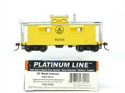 Ho Scale Walthers Platinum Line 932-7530 Bando Baltimore And Ohio 25and039 Caboose 90743