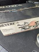 Revere Ware Set 7 Piece 3500241 Stainless Steel Copper Clad Bottom Open Box