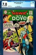 Hawk And The Dove 1 Cgc Graded 7.0 - Second Ever Appearance - Steve Ditko C/a