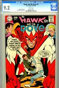 Hawk And The Dove 2 Cgc Graded 9.2 - Fourth Highest Graded - White Pages