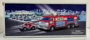 Vintage 2005 - Hess Truck Emergency Fire Truck With Rescue Vehicle - New