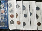 6 Canadian Uncirculated Year Set 1992, 93, 95, 96, 98, 99