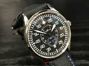 Fortis Pilot Classic Second Watch 40mm Ref.901.20.51lp Automatic Calf Strap