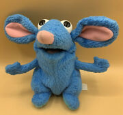Disney Jim Henson Bear In The Big Blue House Tutter Mouse Plush Doll Toy