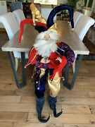 """Mark Roberts Collectors Christmas Life Size 50"""" Jester Fairy Very Rare"""