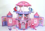 2005 My Little Pony Crystal Rainbow Castle, Silver Glow, Love Wishes Collectible