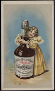 Victorian Trade Card 1880s Pabst Malt Extract The Best Tonic Child Pets Vtc-g177