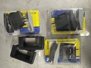 3x Cole Hersee 58332-33-bp Dpst Rocker Switch On-off L.e.d